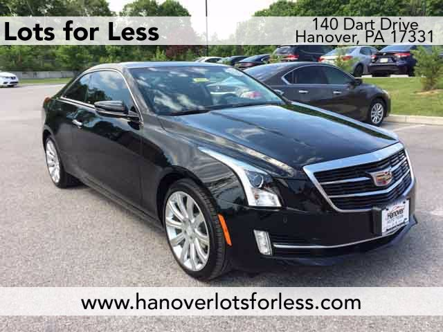 Pre-Owned 2019 Cadillac ATS Coupe Luxury AWD
